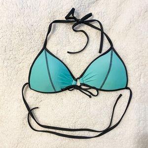 Turquoise Bikini Top